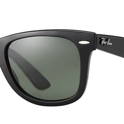 Mens Sunglasses: Black Ray-Ban New Classic Wayfarer® 52-mm. Sunglasses