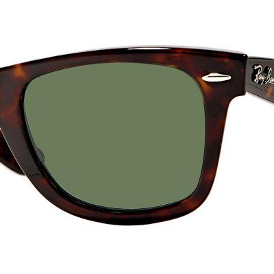 Womens Sunglasses: Tortoise Ray-Ban Classic Wayfarer Sunglasses