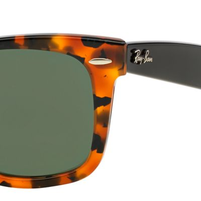 Fashion Sunglasses: Havana Ray-Ban Wayfarer Sunglasses