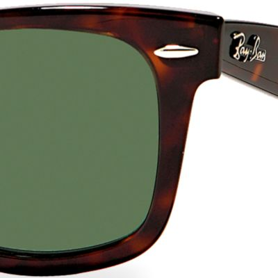 Fashion Sunglasses: Dark Tortoise Ray-Ban Wayfarer Sunglasses