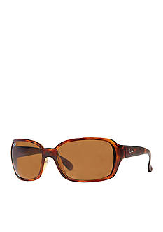 Ray-Ban Polarized Wrap 60-mm. Sunglasses