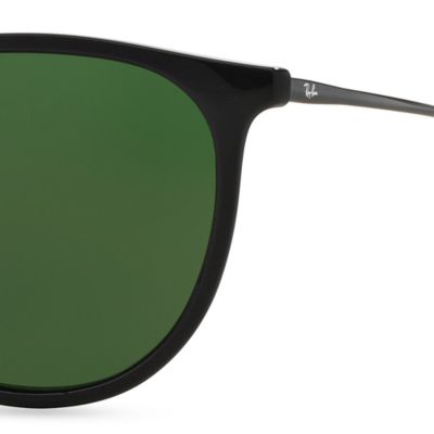 Guys Sunglasses: Black Ray-Ban Erika 54-mm. Sunglasses