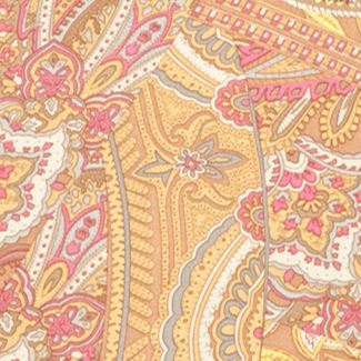 Designer Scarves: Orient Gold Lauren Ralph Lauren Mona Scarf
