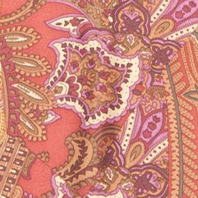 Designer Scarves: Siberian Red Lauren Ralph Lauren Mona Scarf