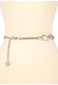 Anne Klein Multi Chain Belt