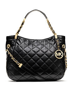 MICHAEL Michael Kors Susannah Quilted Leather Medium Tote
