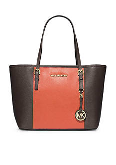 MICHAEL Michael Kors Jet Set Travel Center Stripe Small Travel Tote