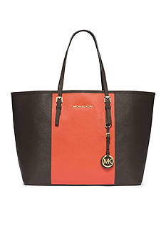 MICHAEL Michael Kors Jet Set Travel Center Stripe Medium Travel Tote
