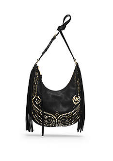 MICHAEL Michael Kors Rhea Studded Medium Slouchy Shoulder Bag