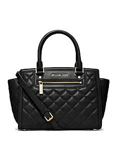 MICHAEL Michael Kors Selma Quilted Leather Medium Satchel