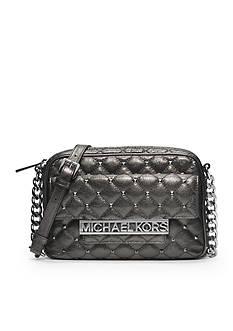 MICHAEL Michael Kors Kim Studded Large Messenger Bag