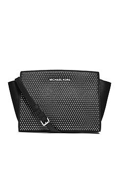 MICHAEL Michael Kors Micro Stud Selma Medium Messenger Bag