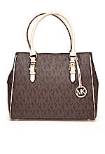 MICHAEL Michael Kors Jetset Medium PVC Signature Work Tote