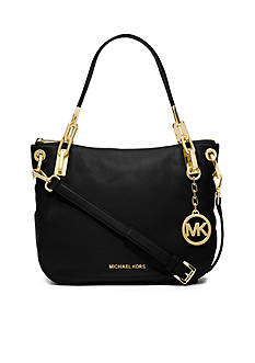MICHAEL Michael Kors Brooke Leather Medium Shoulder Bag