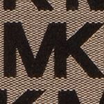 Handbags and Wallets: Beige/Black/Black MICHAEL Michael Kors Monogram East West Tote