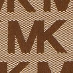Michael Kors Handbags: Beige/Ebony/Mocha MICHAEL Michael Kors Monogram East West Tote