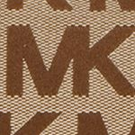 Discount Accessories for Women: Beige/Ebony/Gold MICHAEL Michael Kors Monogram East West Tote