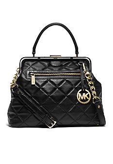 MICHAEL Michael Kors Griffith Quilted Large Satchel