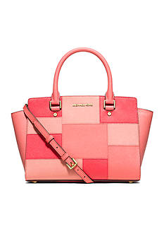MICHAEL Michael Kors Selma Medium Patchwork Satchel