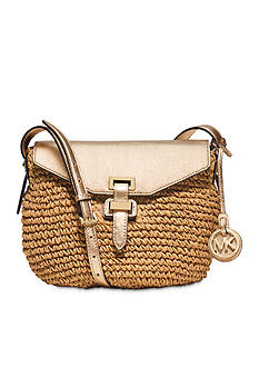 MICHAEL Michael Kors Staw Naomi Medium Messenger Bag