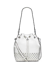 MICHAEL Michael Kors Dottie Large Studded Drawstring Bucket Bag