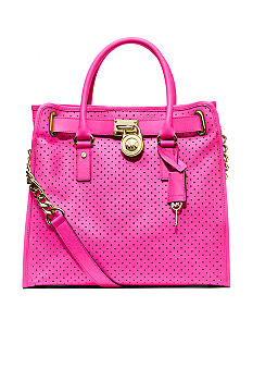 MICHAEL Michael Kors Hamilton Large North South Tote Perforated