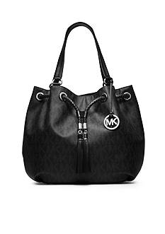 MICHAEL Michael Kors Jet Set Logo Large Gathered Tote
