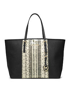 MICHAEL Michael Kors Jet Set Center Stripe Medium Travel Tote