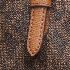 Handbags and Wallets: Brown MICHAEL Michael Kors Jet Set Item Large Snap Pocket Tote