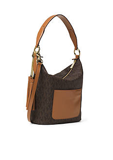 MICHAEL Michael Kors Elana Large Logo Shoulder Bag