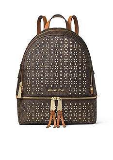 MICHAEL Michael Kors Rhea Medium Logo Backpack