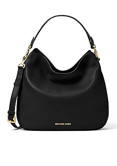 MICHAEL Michael Kors Heidi Medium Leather Shoulder Bag