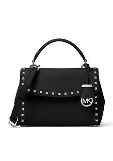 MICHAEL Michael Kors Ava Small Studded Satchel