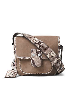 MICHAEL Michael Kors Hewitt Medium Suede Crossbody