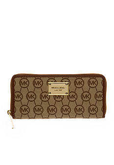 MICHAEL Michael Kors Monogram Zip Around Continental