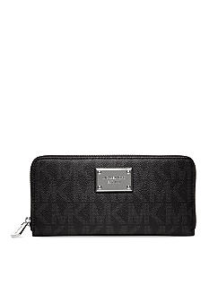 MICHAEL Michael Kors Embossed Zip Around Continental Wallet