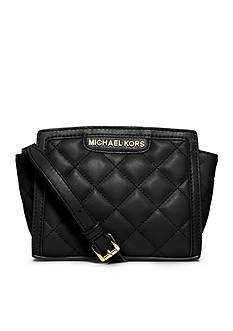 MICHAEL Michael Kors Selma Quilted Leather Mini Messenger Bag
