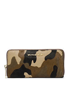 MICHAEL Michael Kors Jet Set Travel Zip Around Continental Wallet