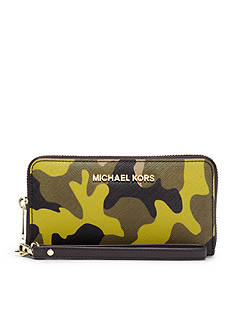 MICHAEL Michael Kors Jet Set Travel Large Coin Multi Fucntion Phone Case