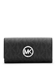 MICHAEL Michael Kors Fulton Leather Carryall Wallet