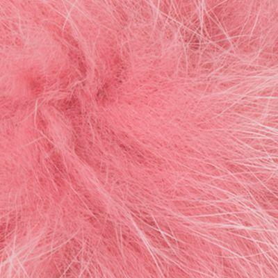 Handbags and Wallets: Misty Rose MICHAEL Michael Kors Fur Pom Pom Key Charm