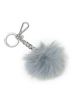 MICHAEL Michael Kors Key Charms Fur Pom Pom Bag