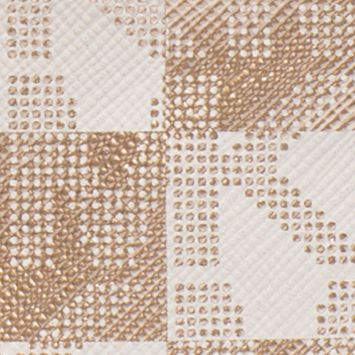 Wallets: Gold MICHAEL Michael Kors Checkerboard Logo Small Wristlet