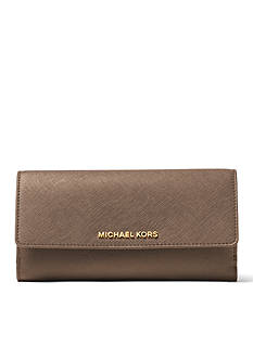 MICHAEL Michael Kors Jet Set Travel Flat Trifold Wallet