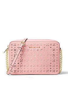 MICHAEL Michael Kors Jet Set Travel Perforated Crossbody