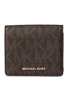 MICHAEL Michael Kors Jet Set Travel Carryall Logo Card Holder
