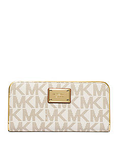 MICHAEL Michael Kors Jet Set Travel Specchio Zip Around Continental Wallet