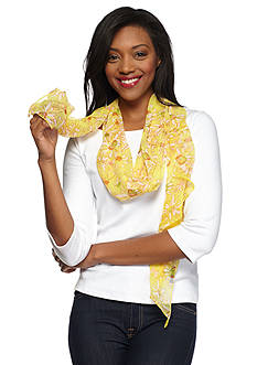 Collection XIIX Floral Fields Scarf