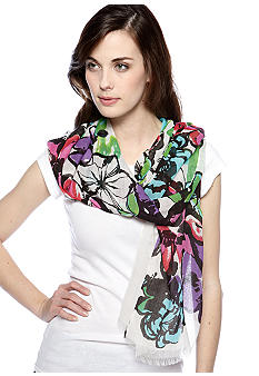 Collection XIIIX Forget Me Not Floral Wrap