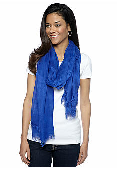 Collection XIIIX Gauzy Solid Scarf